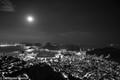 Full moon in Rio de Janeiro