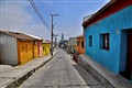 Deserted Street in Valparaiso, Chile