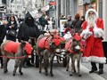 Santa Claus at St. Gallen, Switzerland