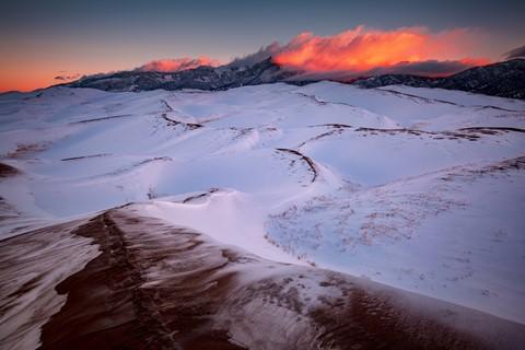 Sunrise, Great Sand Dunes