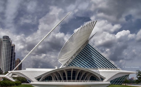 Milwaukee Museum of Art (one of Santiago Calatrava's architectural masterpieces)