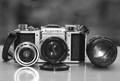 AsahiFlexIIb_B and lenses