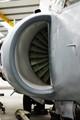Sea Harrier starboard engine