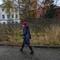 Autumn day, Rybinsk, Yaroslavl Oblast, Russia: Autumn day, Rybinsk, Yaroslavl Oblast, Russia November 2018