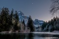 Moon over the Middle Fork