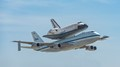 Endeavour over LAX