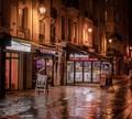 In Paris At Night