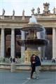 a kiss at the vatican