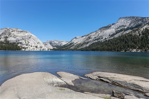 Tenaya Lake Yosemite California