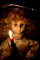 Candle Lit Christmas Angel Doll