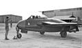 A De Havilland Venom of 32 Squadron, RAF taken in 1955.