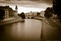 Along the Seine River, Paris France.
