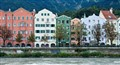 Houses by River Inn, Innsbruck, Austria