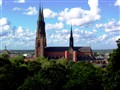 Church in Uppsala Sweden
