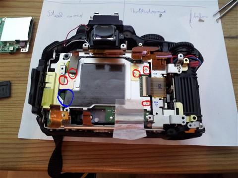 D5100 Sensor back