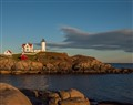 sunset at nubble light, york maine (1 of 1)