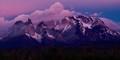 Alpenglow, Torres del Paine National Park