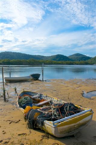 mullet boat