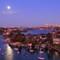 Supermoon over Sydney