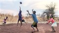 children playing in zambia