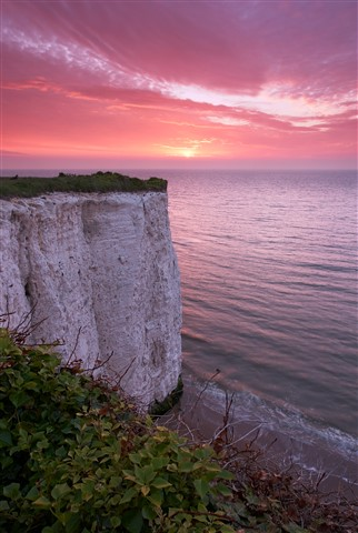 Sunrise at Kingsgate Bay