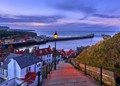 A View from the 199 steps in Whitby