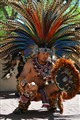 Aztec Warrior Ready For Battle
