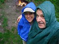 Liz and Van Rain Camp