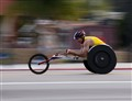 Wheel chair racer