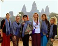 Group at Angkor Temple Siem Reap