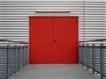 Red Iron Door