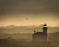 Foggy Morning, Coquille River Lighthouse