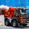 Pop art cement truck - Praha