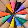 Sharpened Color Pencil