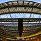Fish eye view of Canopee Halles center - PAris