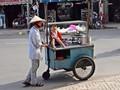 Hot food vendor in Saigon