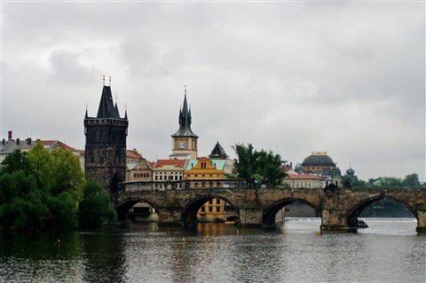 Charles Bridge and Staromestska Tower