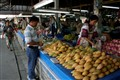 Fresh mangoes at the market