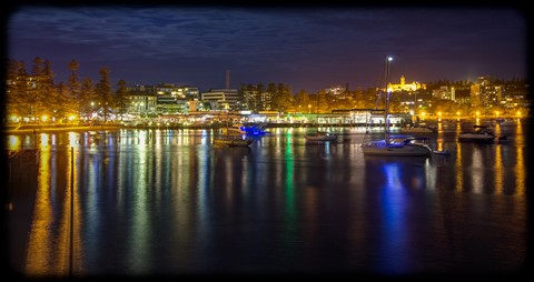 Manly Cove and Wharf, Sydney
