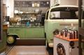 Volkswagen - part of the ice cream shop