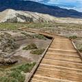 Boardwalk along Salt Creek Death Valley
