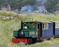 Fairbourne miniature railway.