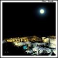 Full Moon. Acropolis Athens