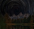 Schwabacher's Landing Star Trails