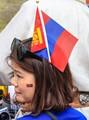 Mongolian Lady in Nadal Festival