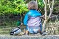 Boy & Duck