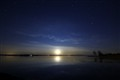 Rising Moon over Lough Ree