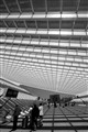 Trainstation Guillemins in Liege