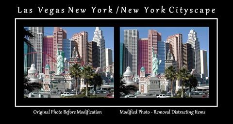 Las Vegas - New York New York -Cityscape
