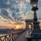 Budapest Chain Bridge Sunrise-1